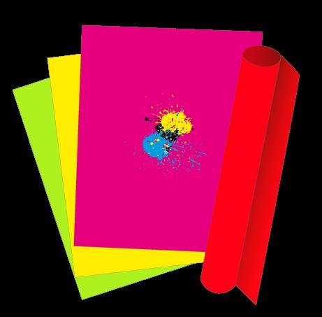 Plakate & Poster - NEON - einseitig schwarz bedruckt (1/0)