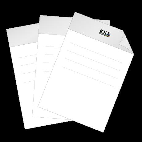 Briefpapier HKS | DIN A3 beidseitig | 1/1-farbig