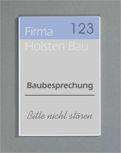 Wandschild   System Karlsruhe   Frei / Besetzt